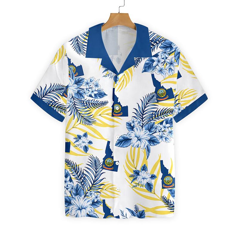Idaho Proud Proud Hawaiian Shirt