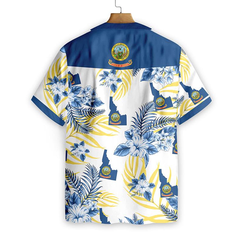 Idaho Proud Proud Hawaiian Shirt1