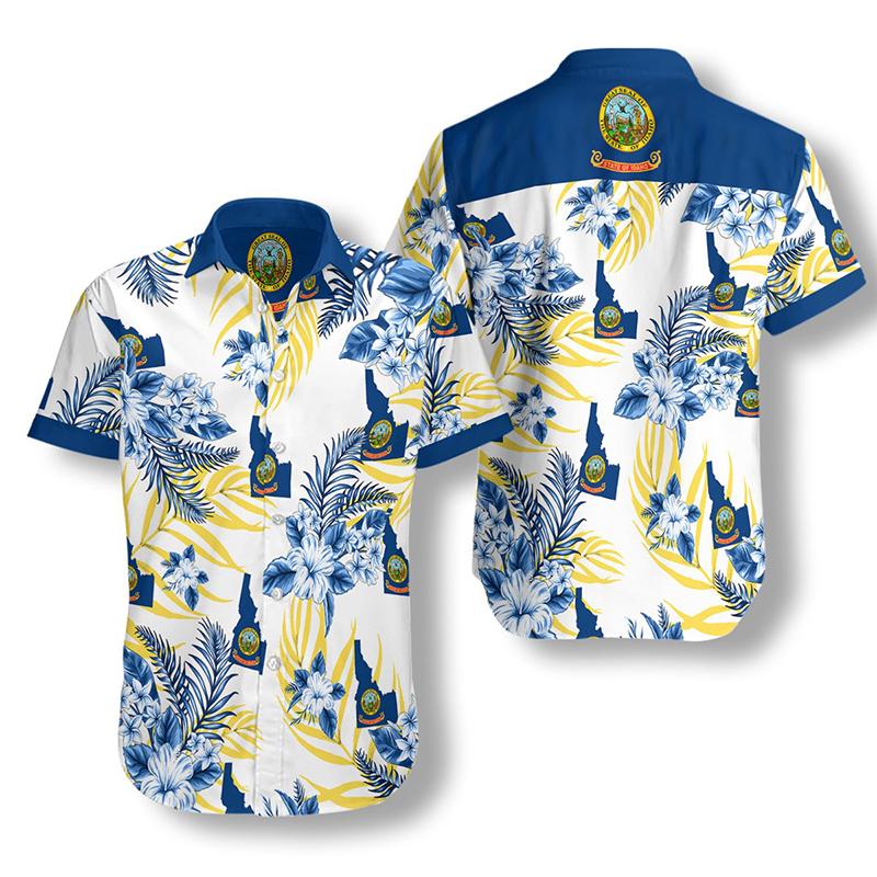 Idaho Proud Proud Hawaiian Shirt2