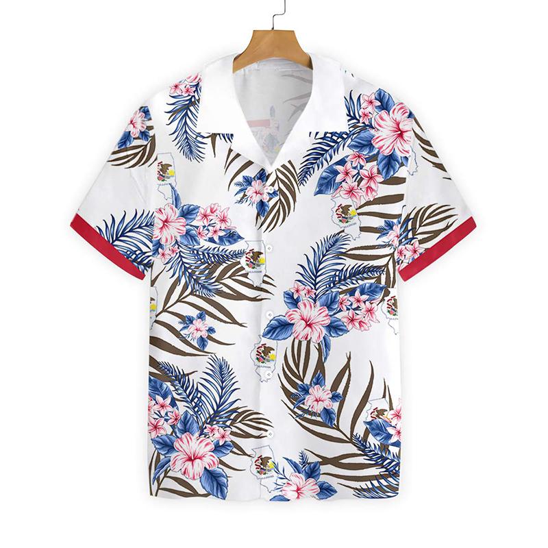 Illinois Proud Proud Hawaiian Shirt