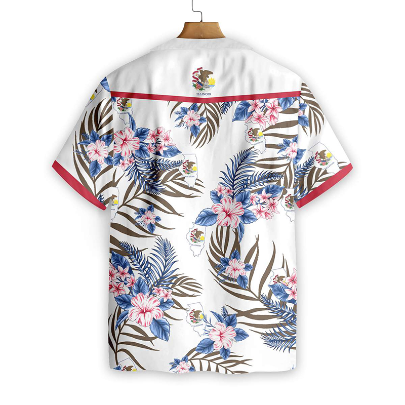 Illinois Proud Proud Hawaiian Shirt1