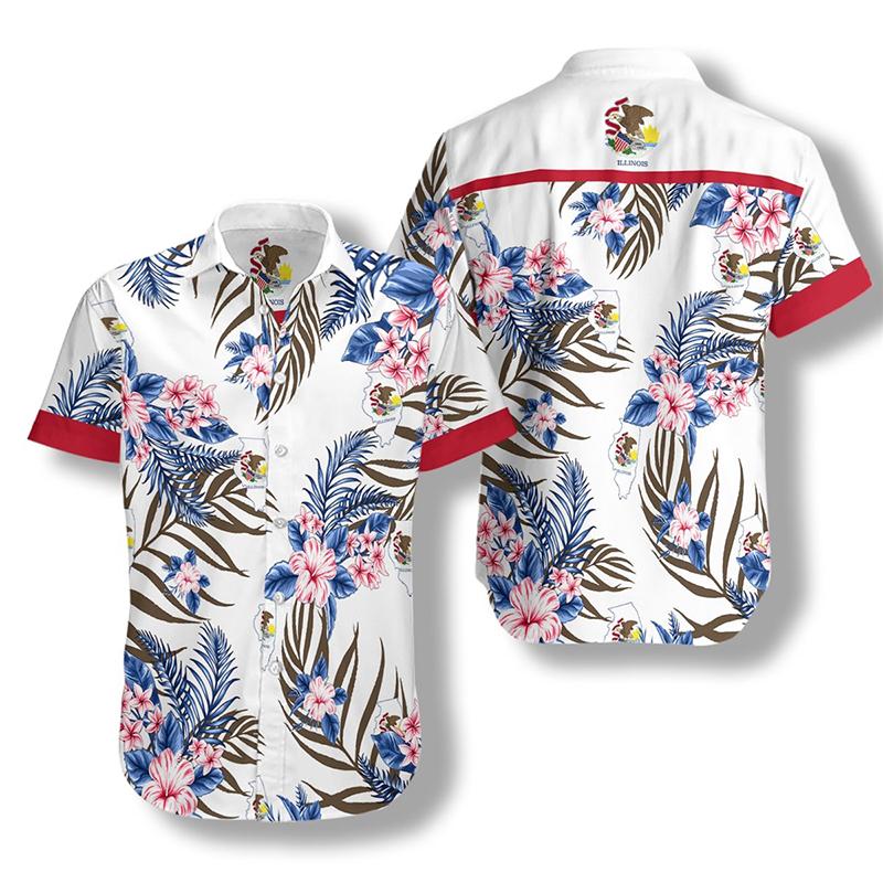 Illinois Proud Proud Hawaiian Shirt2