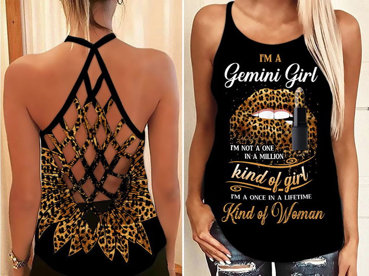 Im A Gemini Girl Im Not A One In A Million Kind Of Girl Im A Once In A Lifetime Kind Of Woman Shirt And Hoodie