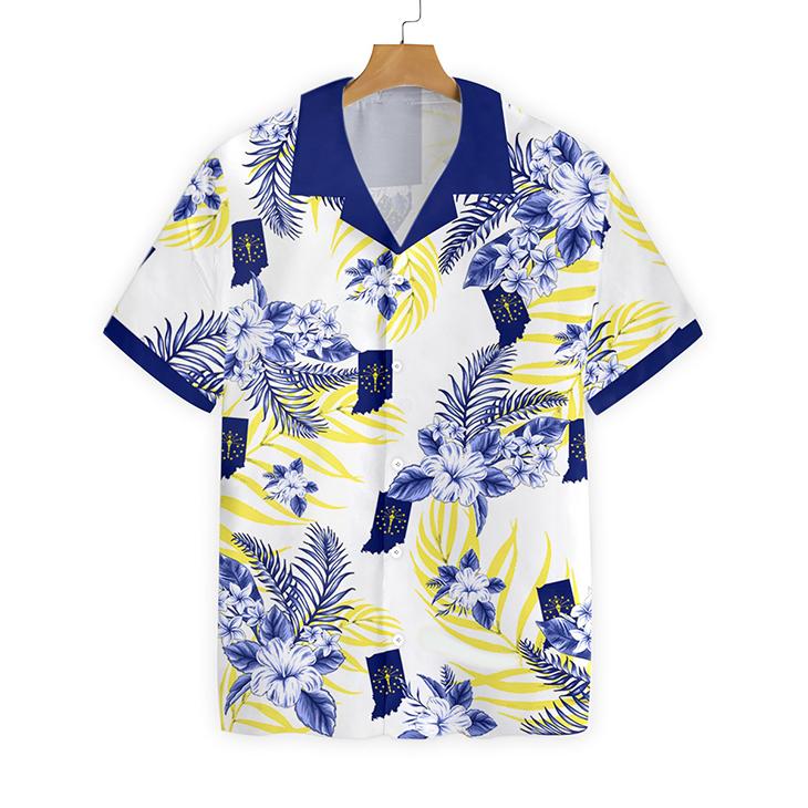 Indiana Proud Proud Hawaiian Shirt