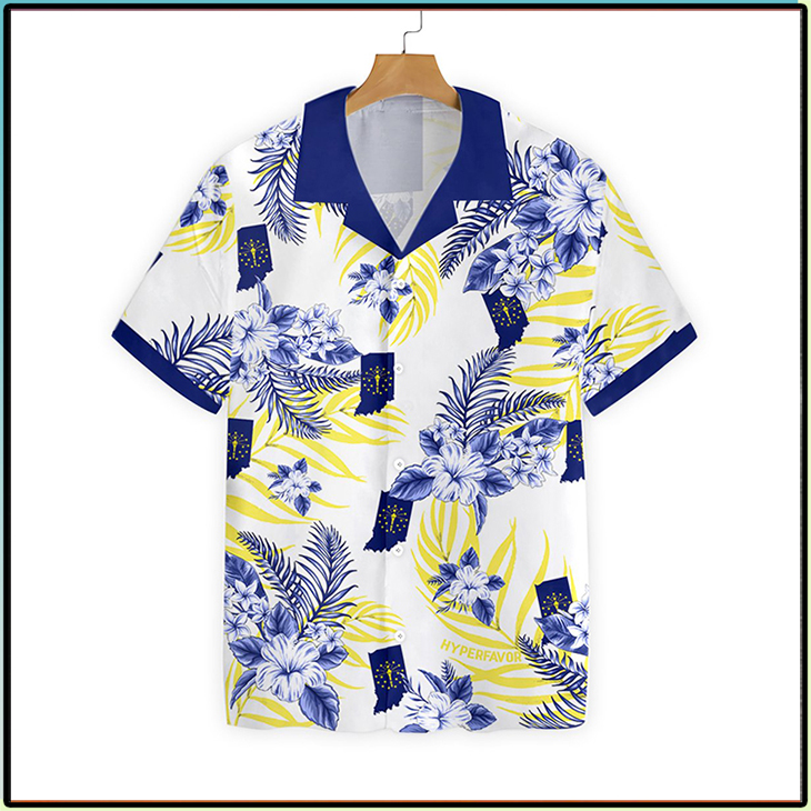 Indiana Proud Proud Hawaiian Shirt2