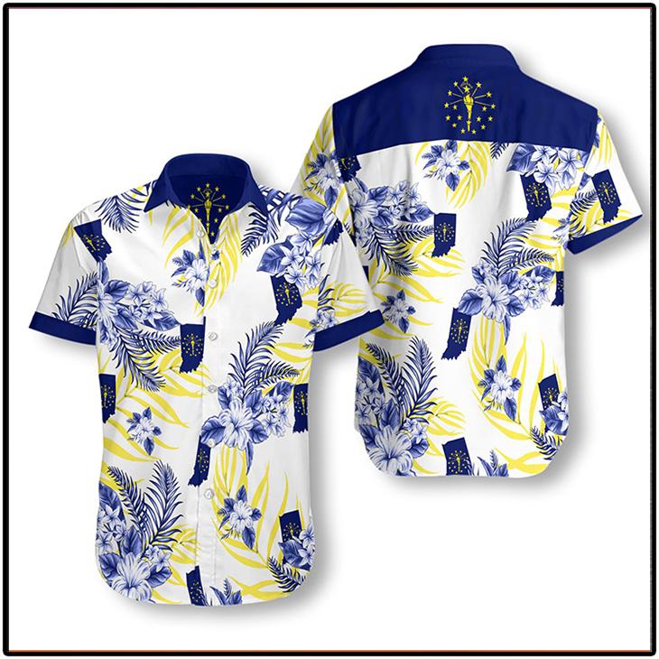 Indiana Proud Proud Hawaiian Shirt3