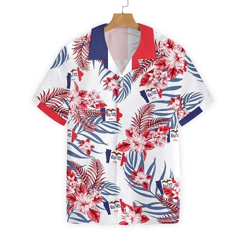 Iowa Proud Hawaiian Shirt