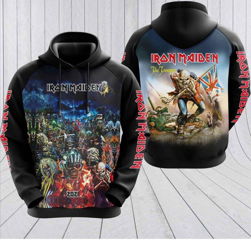 Iron Maiden The Trooper N hoodie4