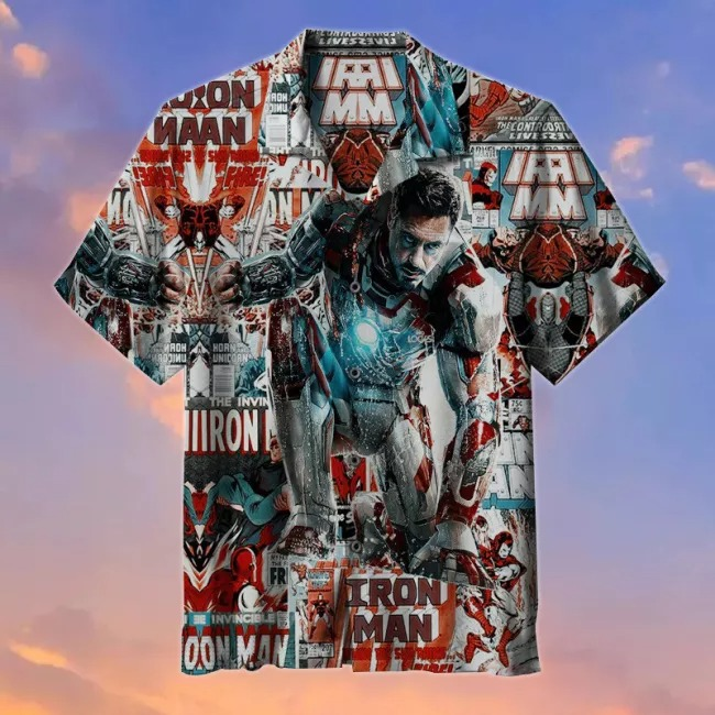 Iron Maiden 3d over print hoodie