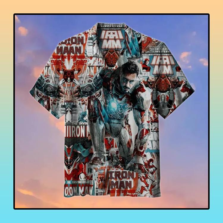Iron Man Hawaiian Shirt