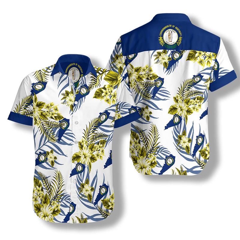 Kentucky Proud Proud Hawaiian Shirt2