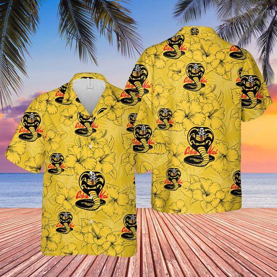 Kid Cobra Kai Hawaiian Shirt and short