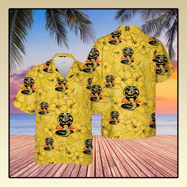Kid Cobra Kai Hawaiian Shirt and short1