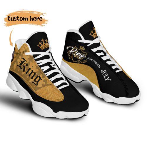 King are Born in July custom Air Jordan 13 Sneaker Shoes3