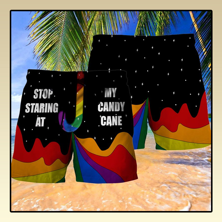 LGBT Stop staring at my candy cane short3