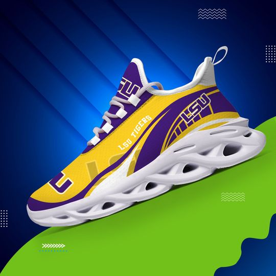 LSU Tigers clunky max soul Sneaker