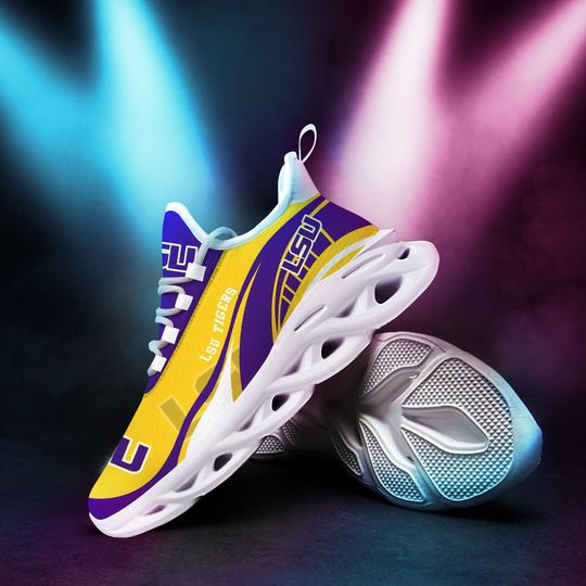 LSU Tigers clunky max soul Sneaker1