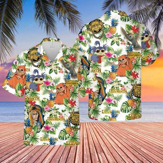 Labyrinth Hawaiian Shirt and short
