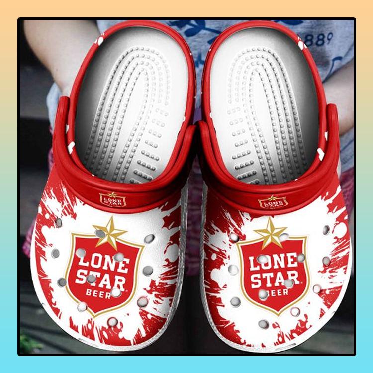 Lone Star Beer Crocs Crocband Shoes2
