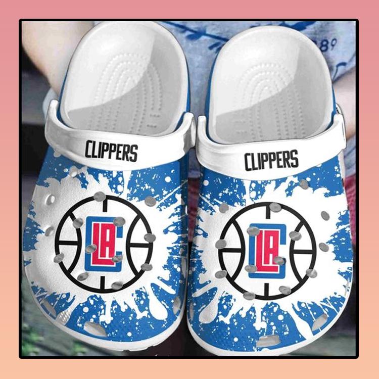 Los Angeles Clippers crocs clog crocband2
