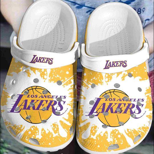 Los Angeles Lakers crocs clog crocband
