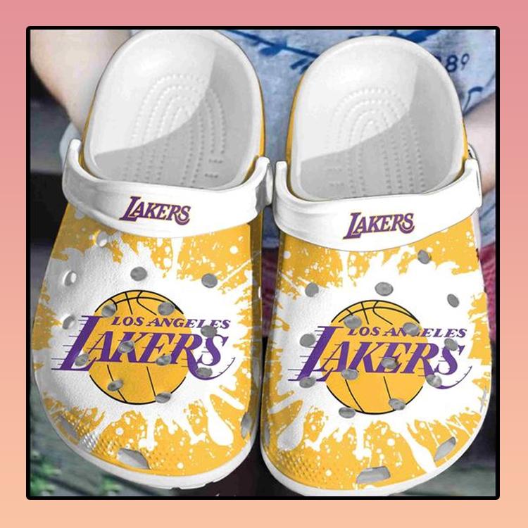 Los Angeles Lakers crocs clog crocband3