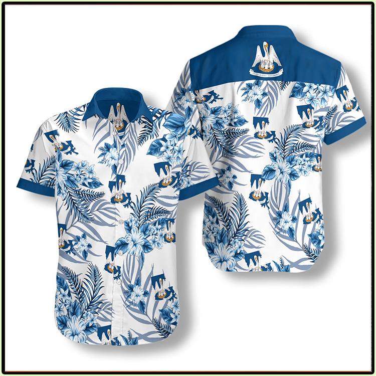 Louisiana Proud Proud Hawaiian Shirt1