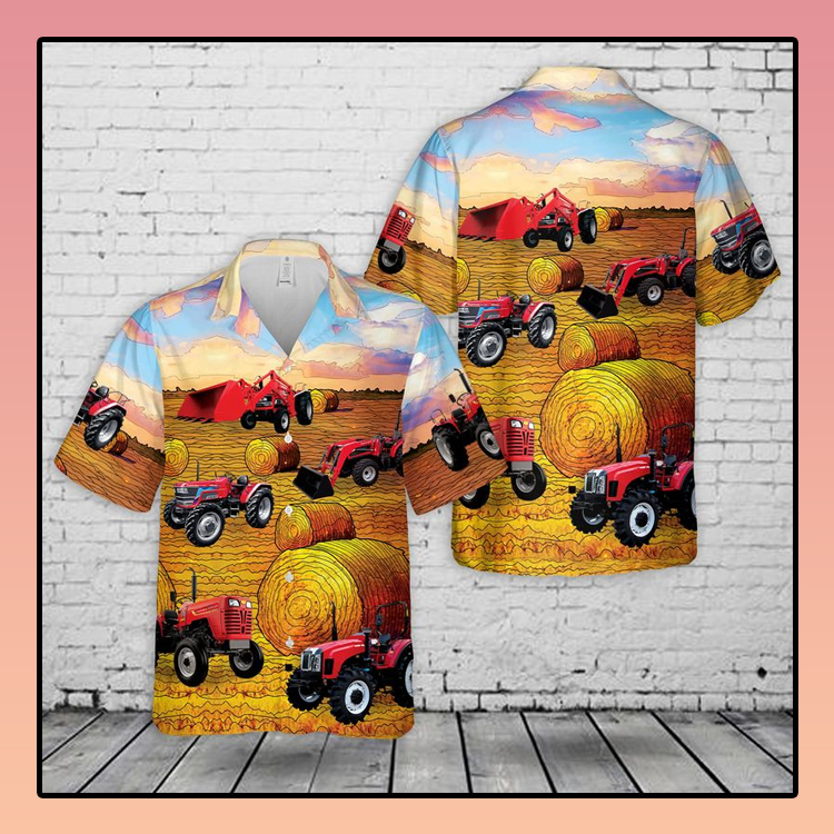 Mahindra Tractors USA Hawaiian Shirt3 1