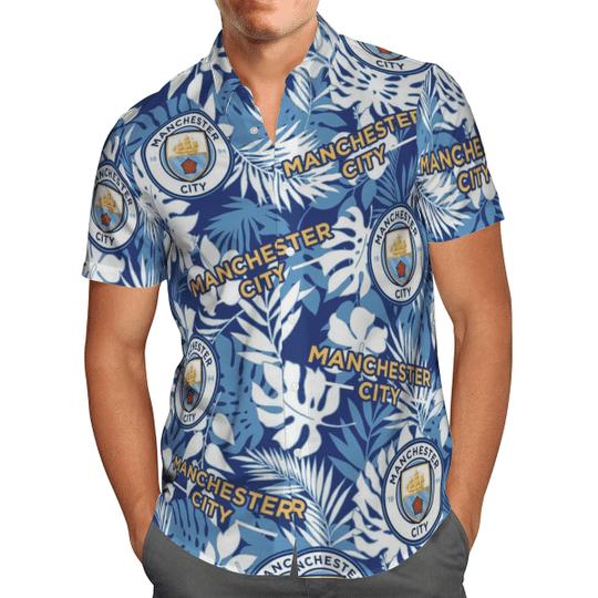 Manchester City Hawaiian Shirt1