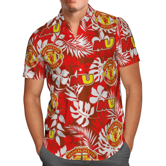 Manchester United Hawaiian Shirt1