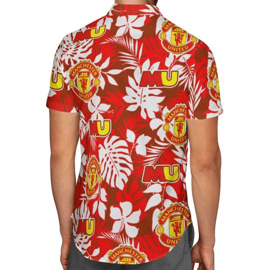 Manchester United Hawaiian Shirt2