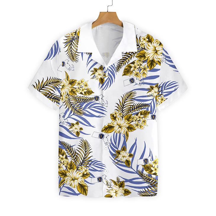 Massachusetts Proud Hawaiian Shirt
