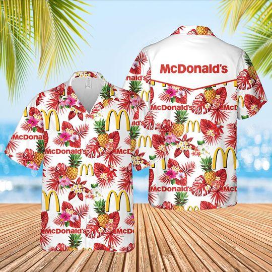 McDonalds Hawaiian Shirt and short