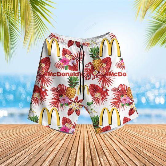 McDonalds Hawaiian Shirt and short3