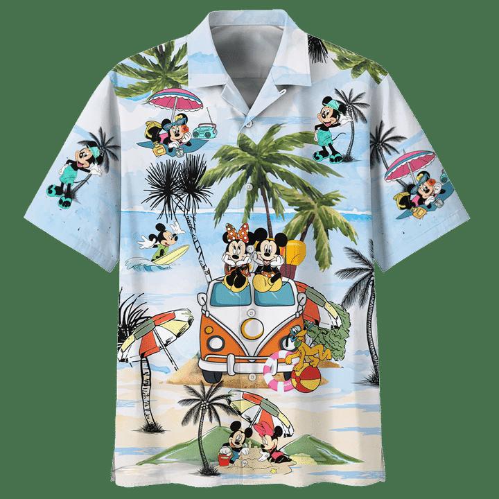 Mickey Mouse Summer Hawaiian Shirt1