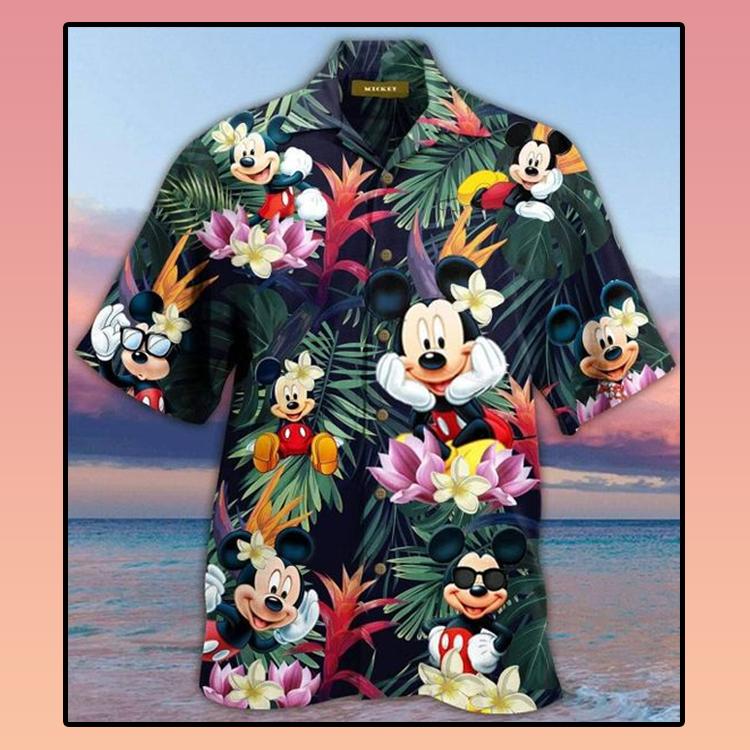 Mickey mouse hawaiian shirtC3