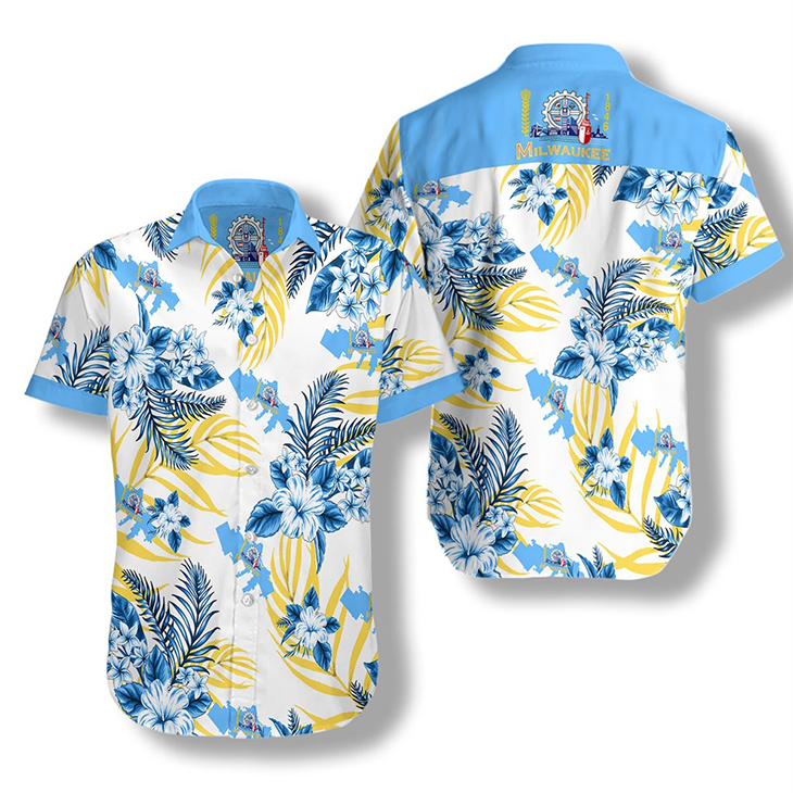 Milwaukee Proud Hawaiian Shirt 3
