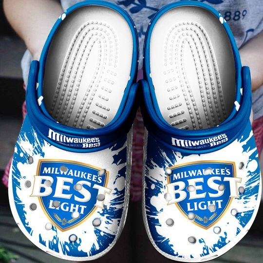 Milwaukees Best Light Crocs Crocband Shoes