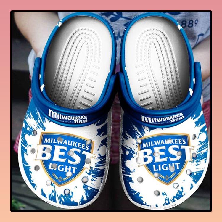 Milwaukees Best Light Crocs Crocband Shoes2