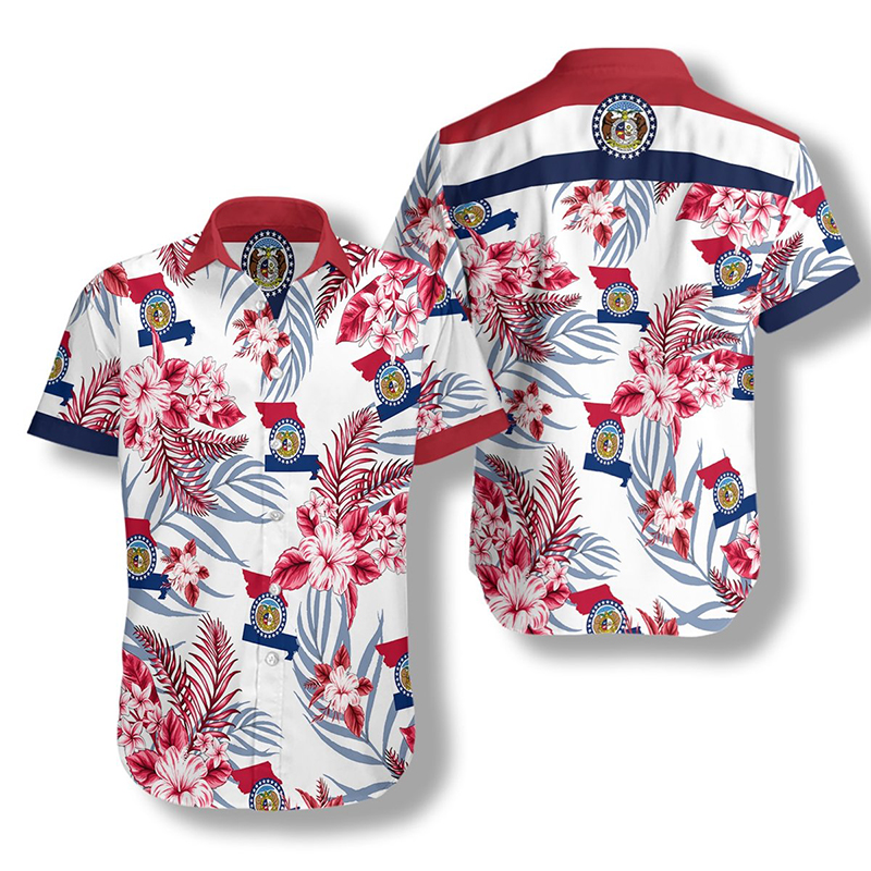Missouri Proud Hawaiian Shirt