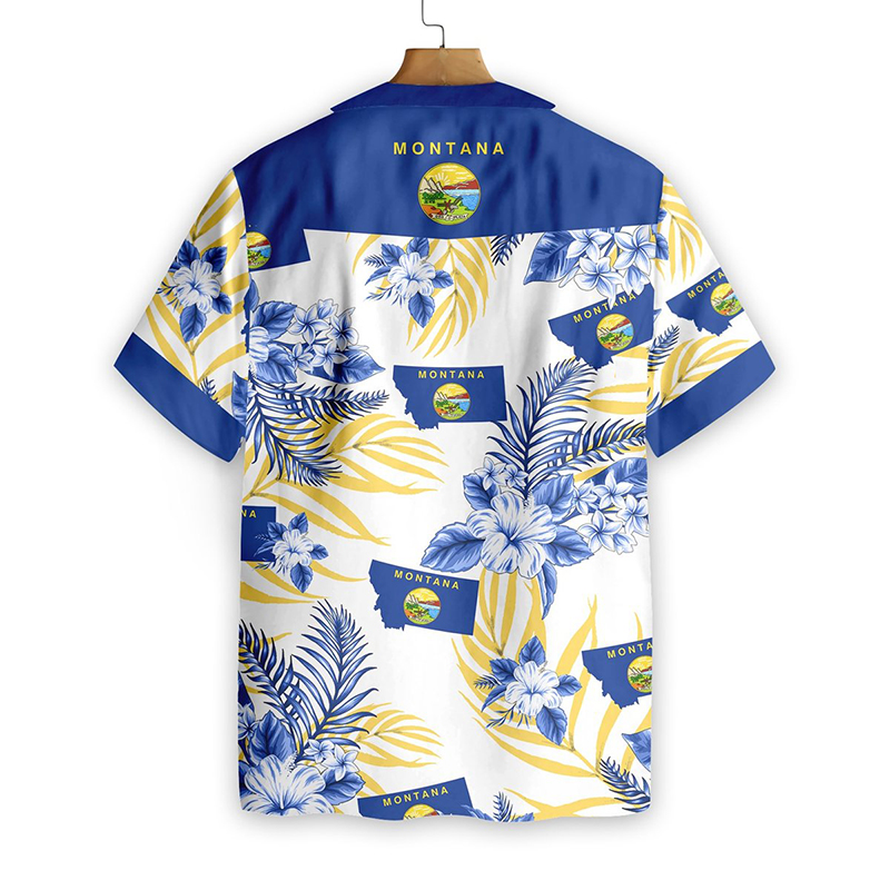 Montana Proud Hawaiian Shirt1