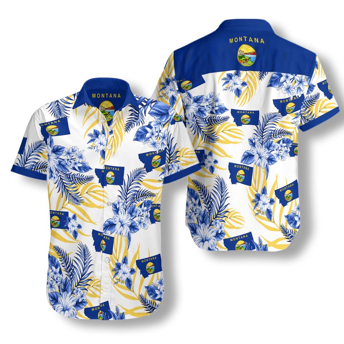 Montana Proud Hawaiian Shirt2