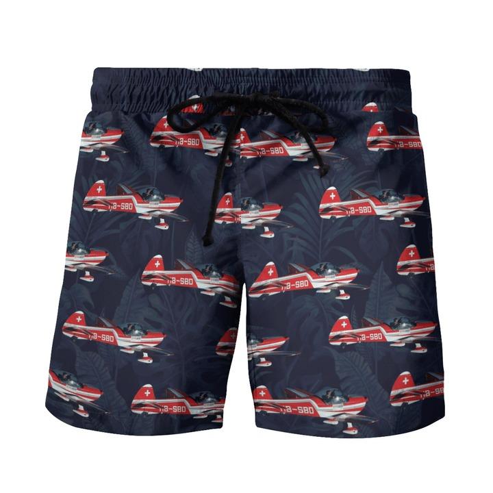 Mudry Cap 10 Australian Defence Force Basic Flying Training School Hawaiian Shirt And Shorts1