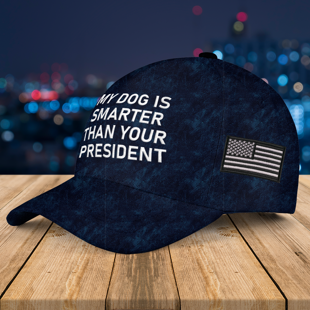 My Dog Is Smarter Than Your President Authentic Kryptek Typhon Hat left 3