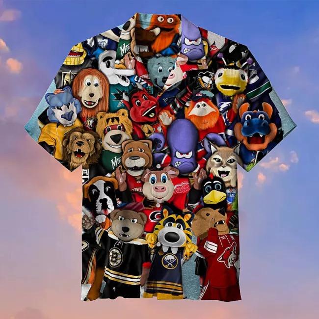 NHL Lucky Charm Commemorative Hawaiian Shirt