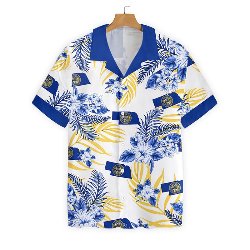 Nebraska Proud Proud Hawaiian Shirt