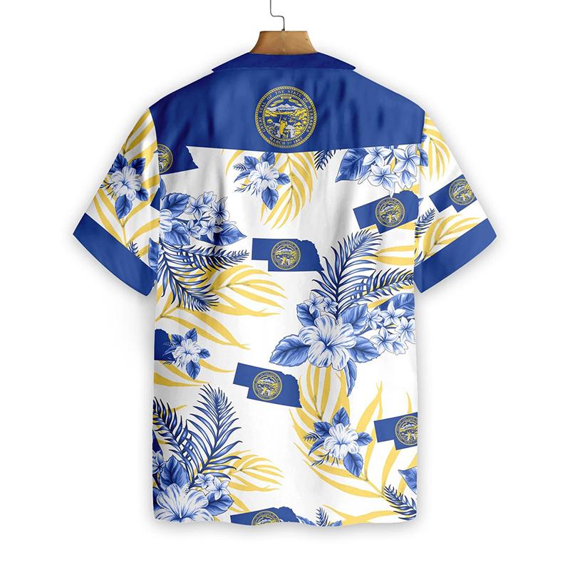 Nebraska Proud Proud Hawaiian Shirt1