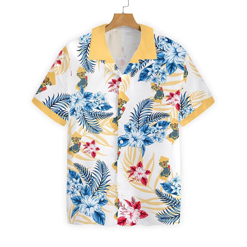 New Jersey Proud Proud Hawaiian Shirt