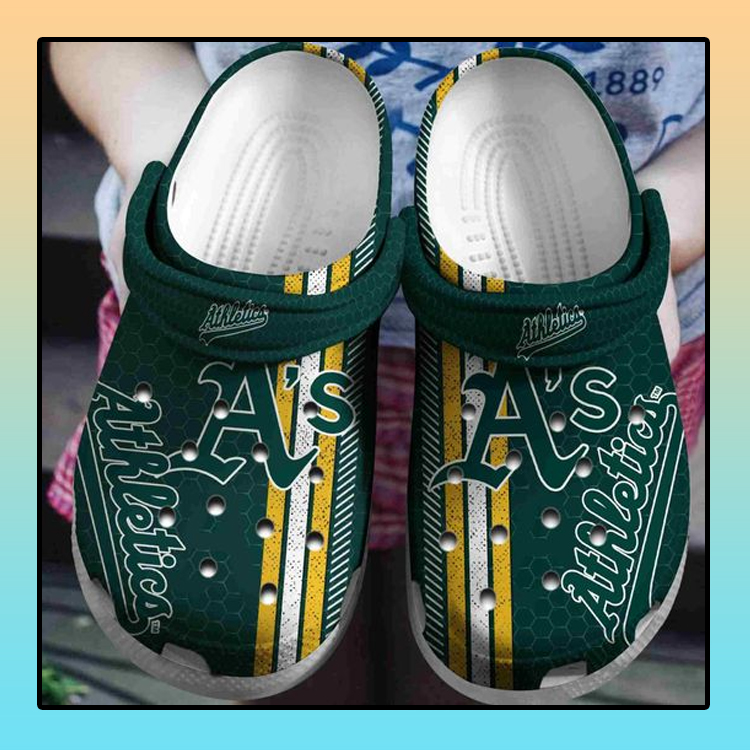 Oakland Athletics crocs clog crocband4