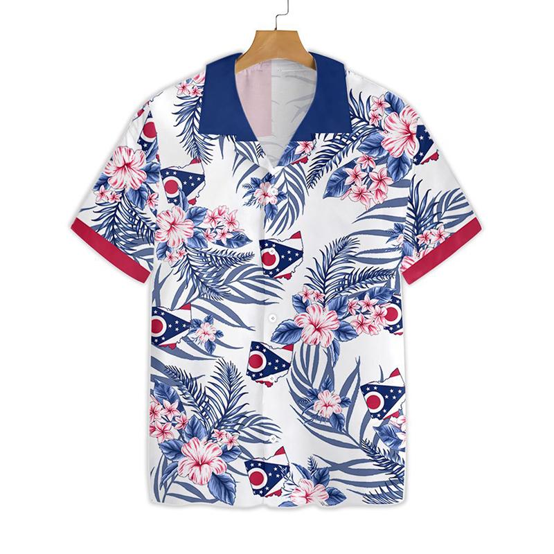 Ohio Proud Hawaiian Shirt